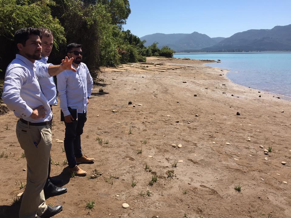 COLBÚN; Avanza el Proyecto de Balneario en Lago Machicura
