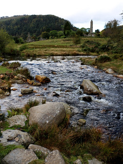 Vista su Glendalough