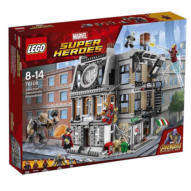 大量新角色、新造型讓你眼花撩亂~LEGO 76101、76102、76103、76104、76107、76108《復仇者聯盟3:無限之戰》Avengers: Infinity War 電影盒組整理