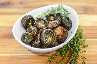 Herbed-crusted Grilled Mushrooms