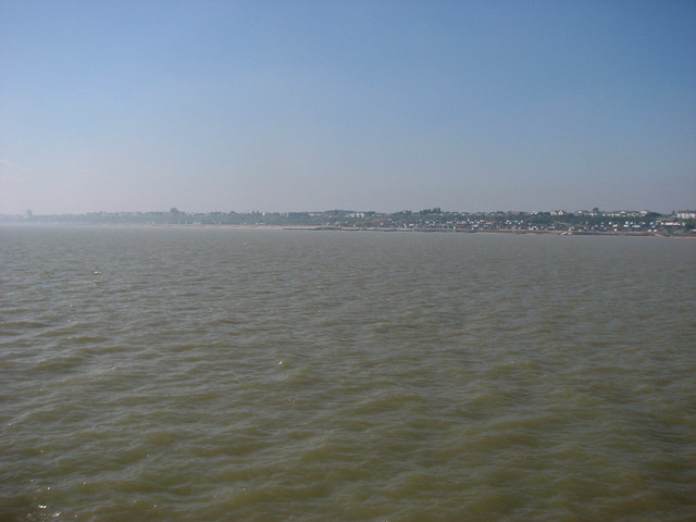View from Walton-on-the-Naze Pier