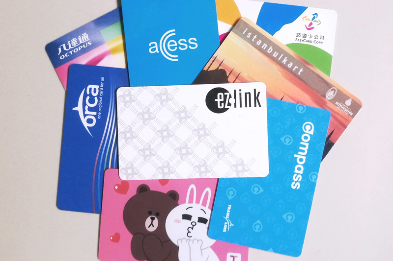 City public transit cards: EZ-Link card, Singapore
