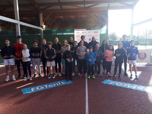 Primera Prueba Circuito Gallego Juvenil de Tenis Babolat 2018