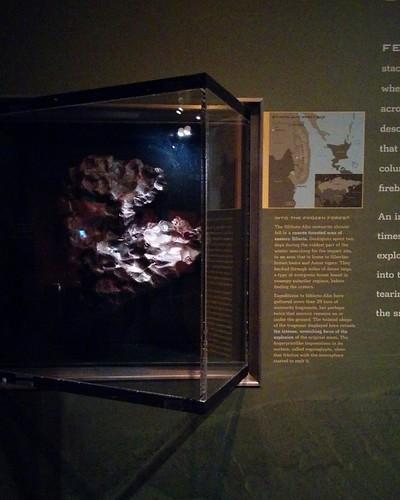 Fragment of Sikhote-Alin #newyorkcity #newyork #manhattan #amnh #sikhotealin #meteorite #iron #siberia #russianfareast #primorye #americanmuseumofnaturalhistory #latergram