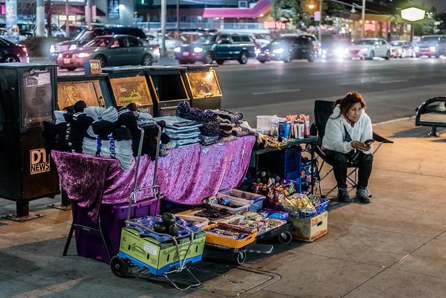 Sidewalk Vending, Nikon D750, AF Zoom-Nikkor 35-70mm f/2.8D