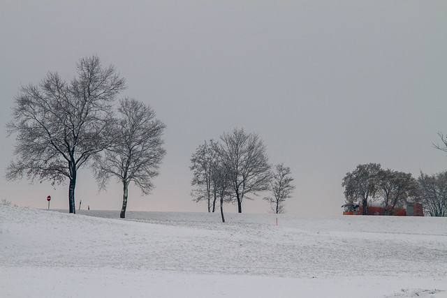 Winter in Ebersberg, Munich