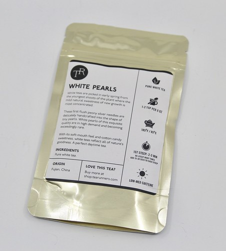 Tea Runners, White Pearls