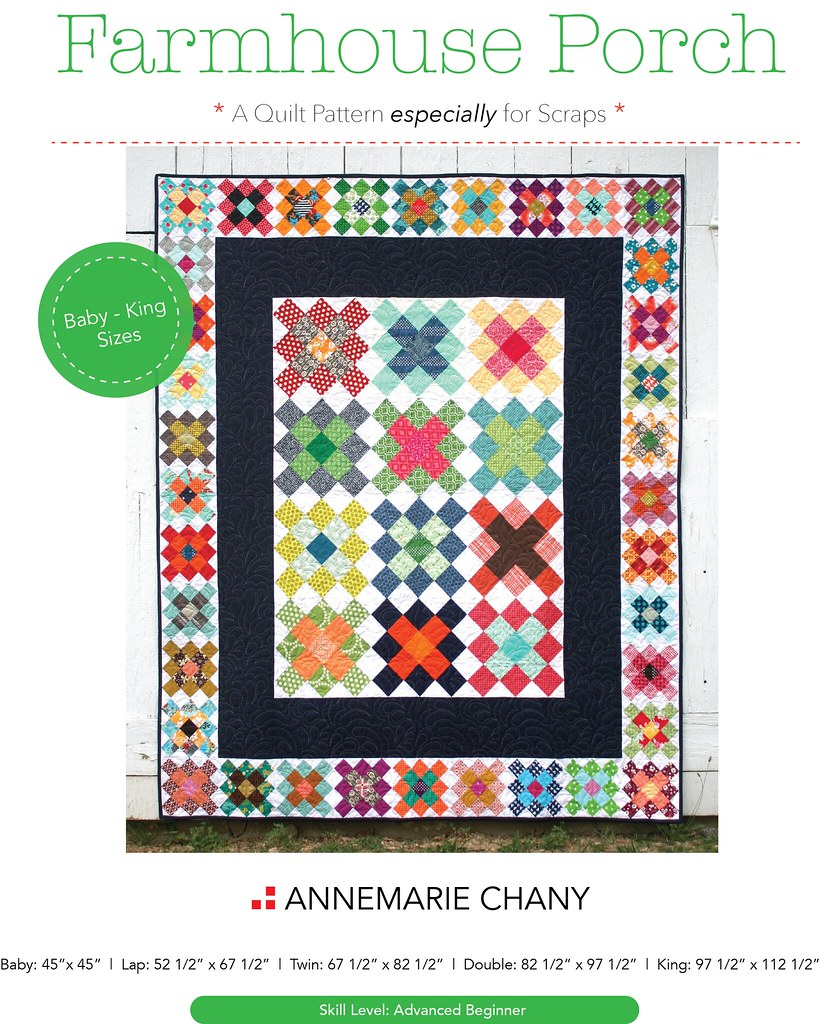 Farmhouse Porch Quilt Pattern COVER ONLY