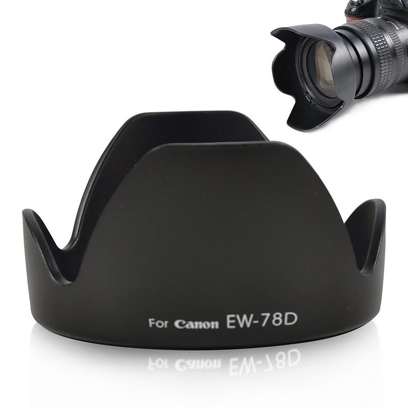 Lens hood loa che nắng EW-78D cho ống kính Canon EF-S 18-200mm f/3.5-5.6 IS
