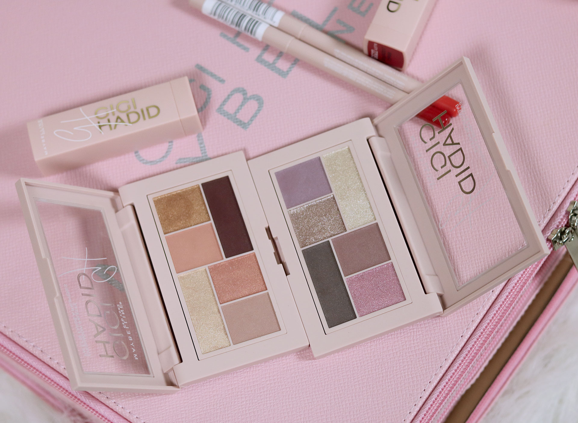 38 Gigi Hadid Maybelline Collection Review Swatches Photos - Gen-zel She Sings Beauty