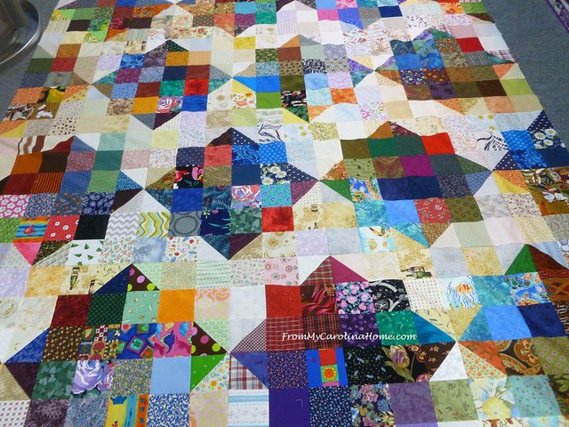 California Fire Quilts ~ From My Carolina Home