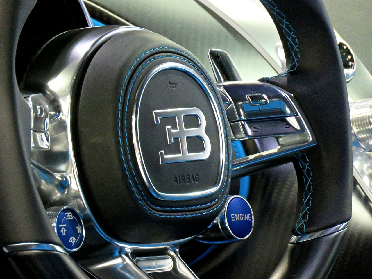 Bugatti Chiron Steering Wheel Philly