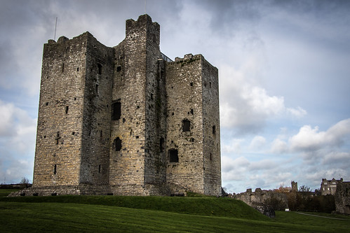 trim castle county meath castillo ireland irlanda architecture arquitectura historical histórico normand normando sky cielo nubes clouds europa europe canon eos 7d mark ii