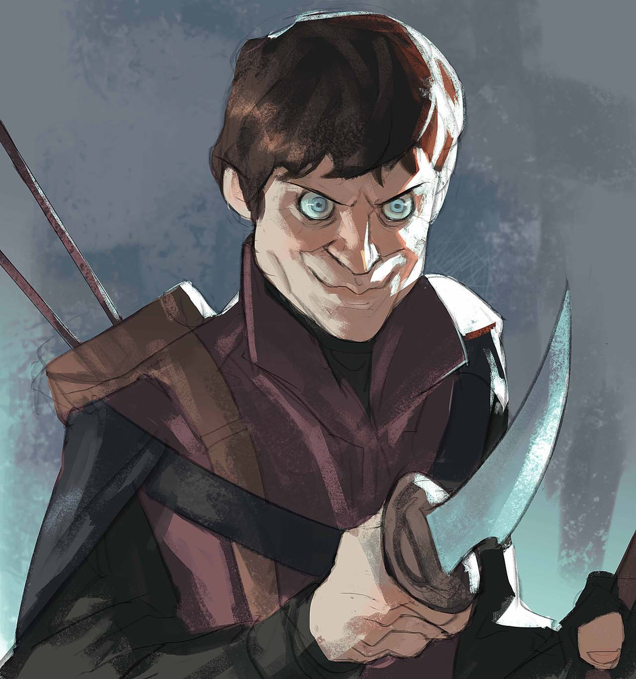 Artist Creates Unique Character Arts From Game Of Thrones – Ramsay Bolton Character Art By Ramón Nuñez