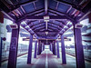 Mi fantasy posted a photo:	Light rail, stadium station