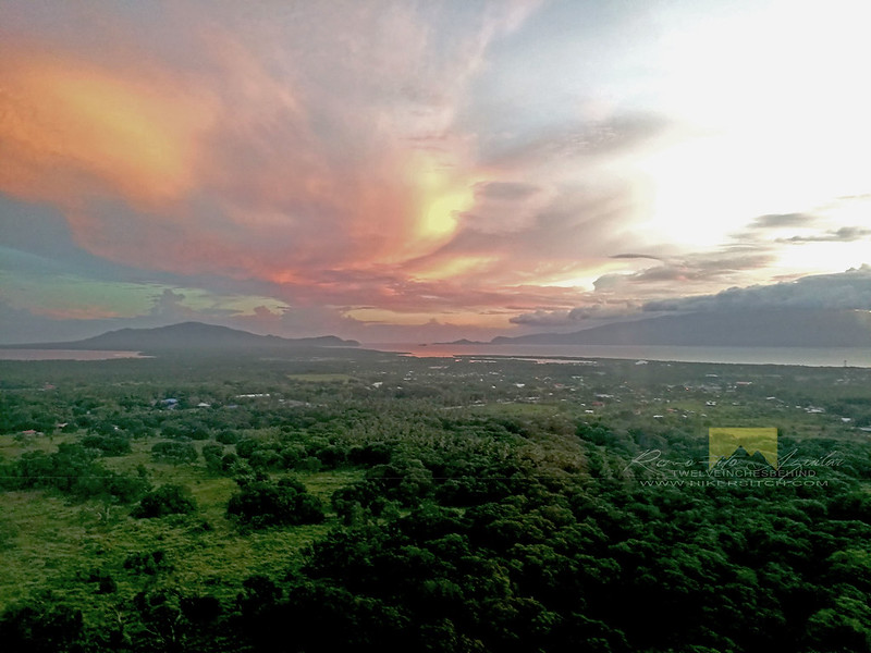 Mati Sunset from above