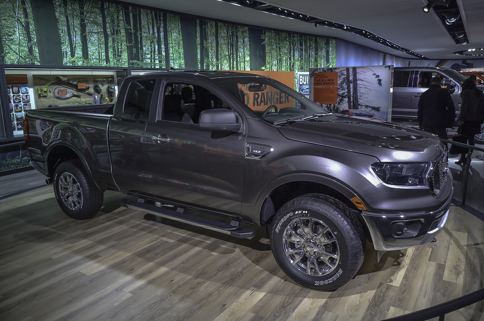2019 Ford Ranger live photos: 2018 NAIAS
