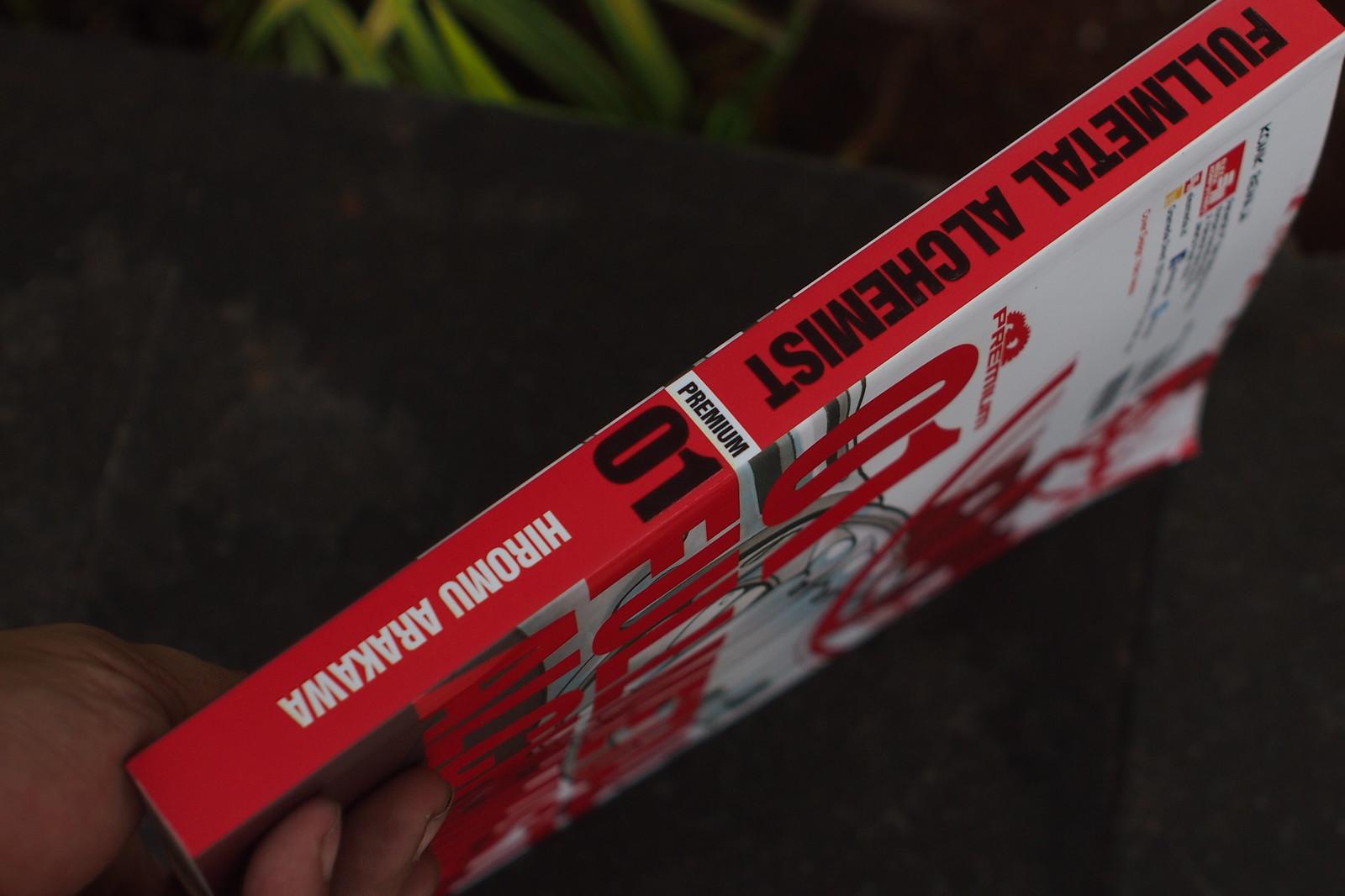 Book spine / punggung buku