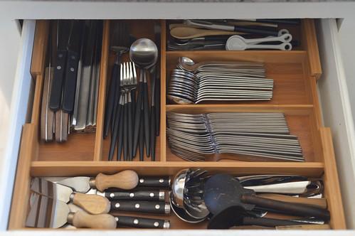 re-organized drawer