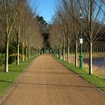 Walkway in Miller Park