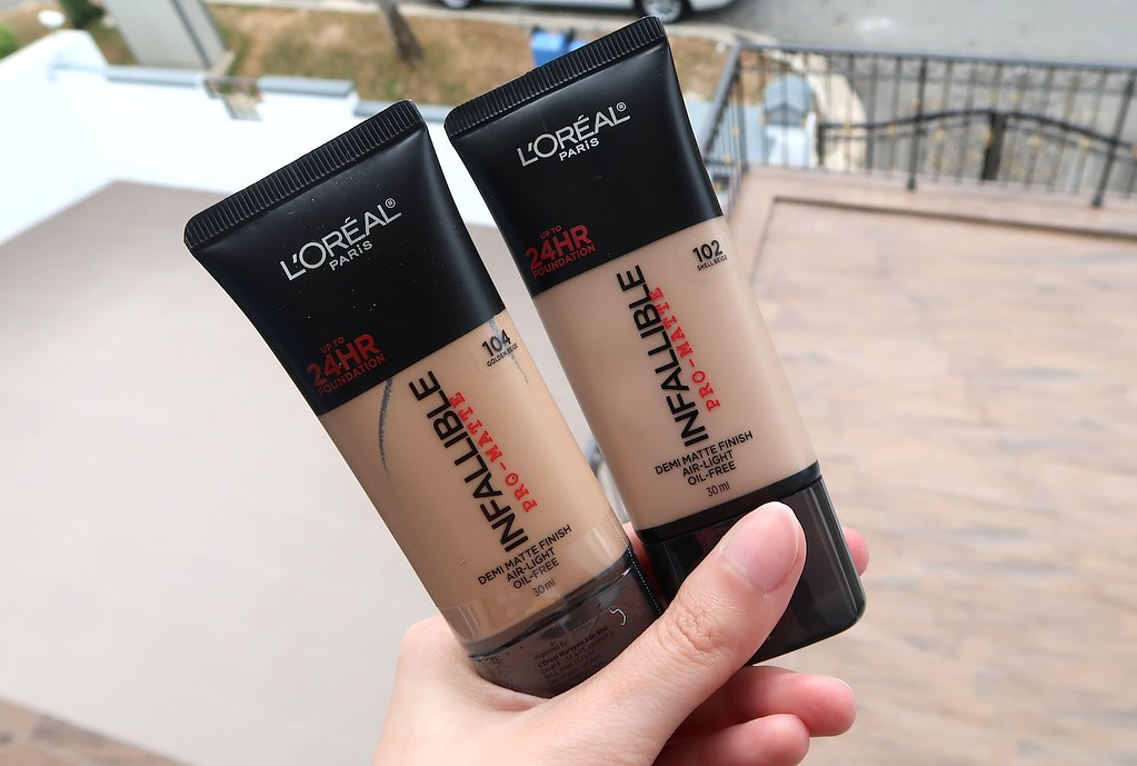 Infallible Pro-Matte Foundation