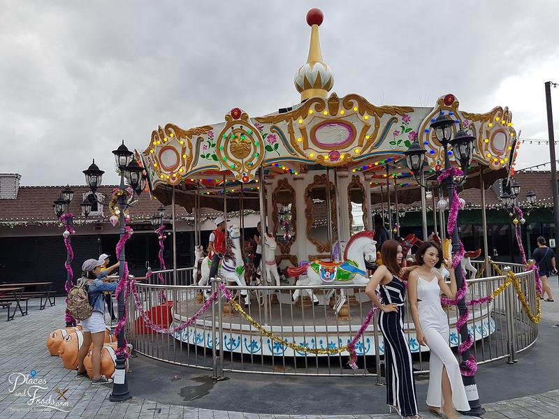 hatyai pruksa park carrousel