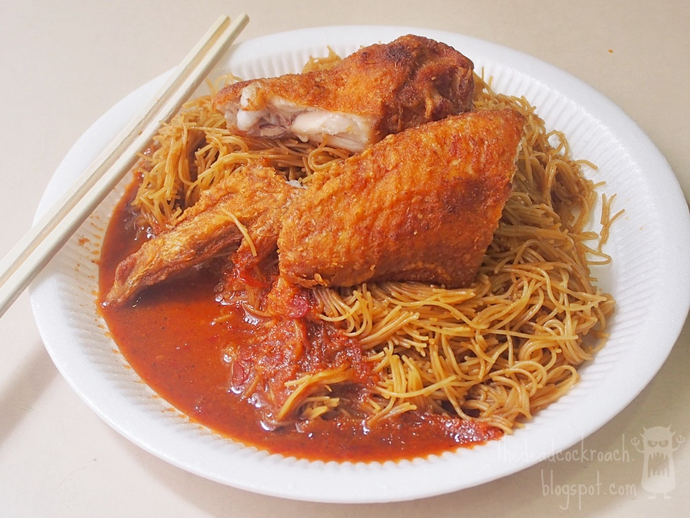 eng kee, food, food review, fried beehoon, fried chicken wings, redhill, redhill food centre, review, singapore, 荣记