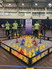 Hawaiian Electric at the Hawaiian Electric Companies Hawaii State VEX Robotics Championships - January 13-14, 2018: The competition field