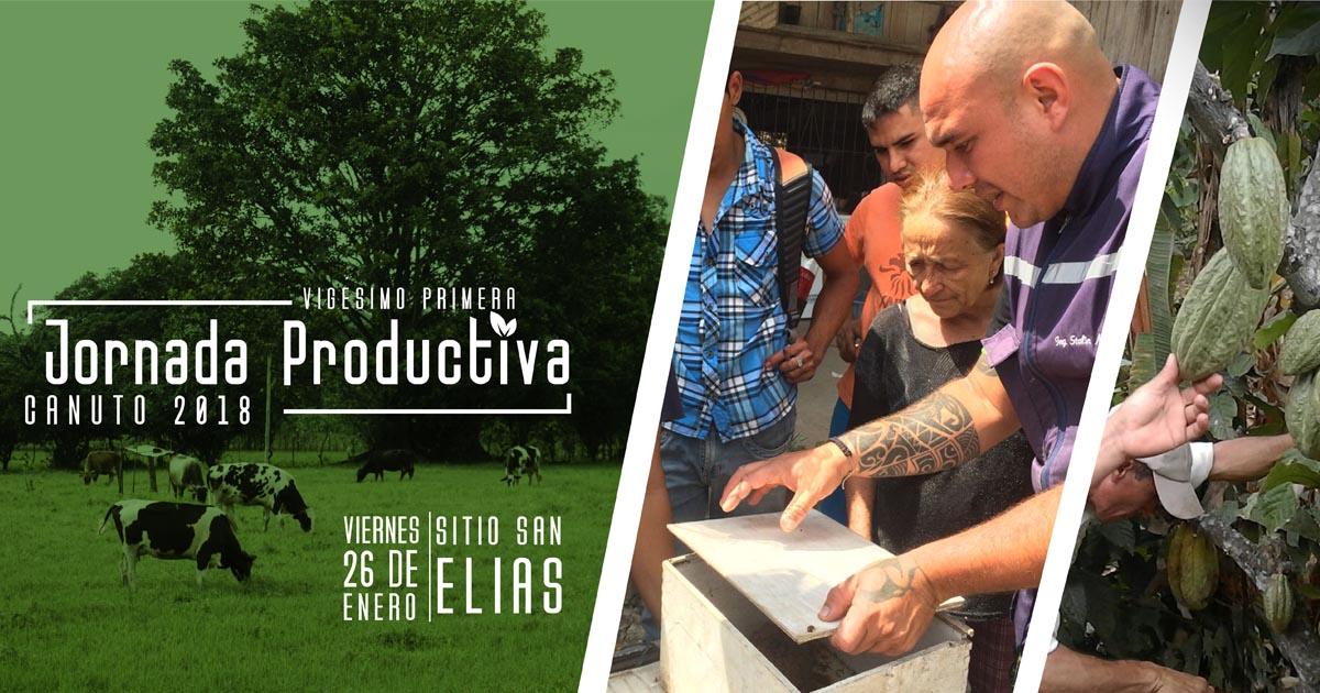 Jornada productiva para fortalecer la producción rural