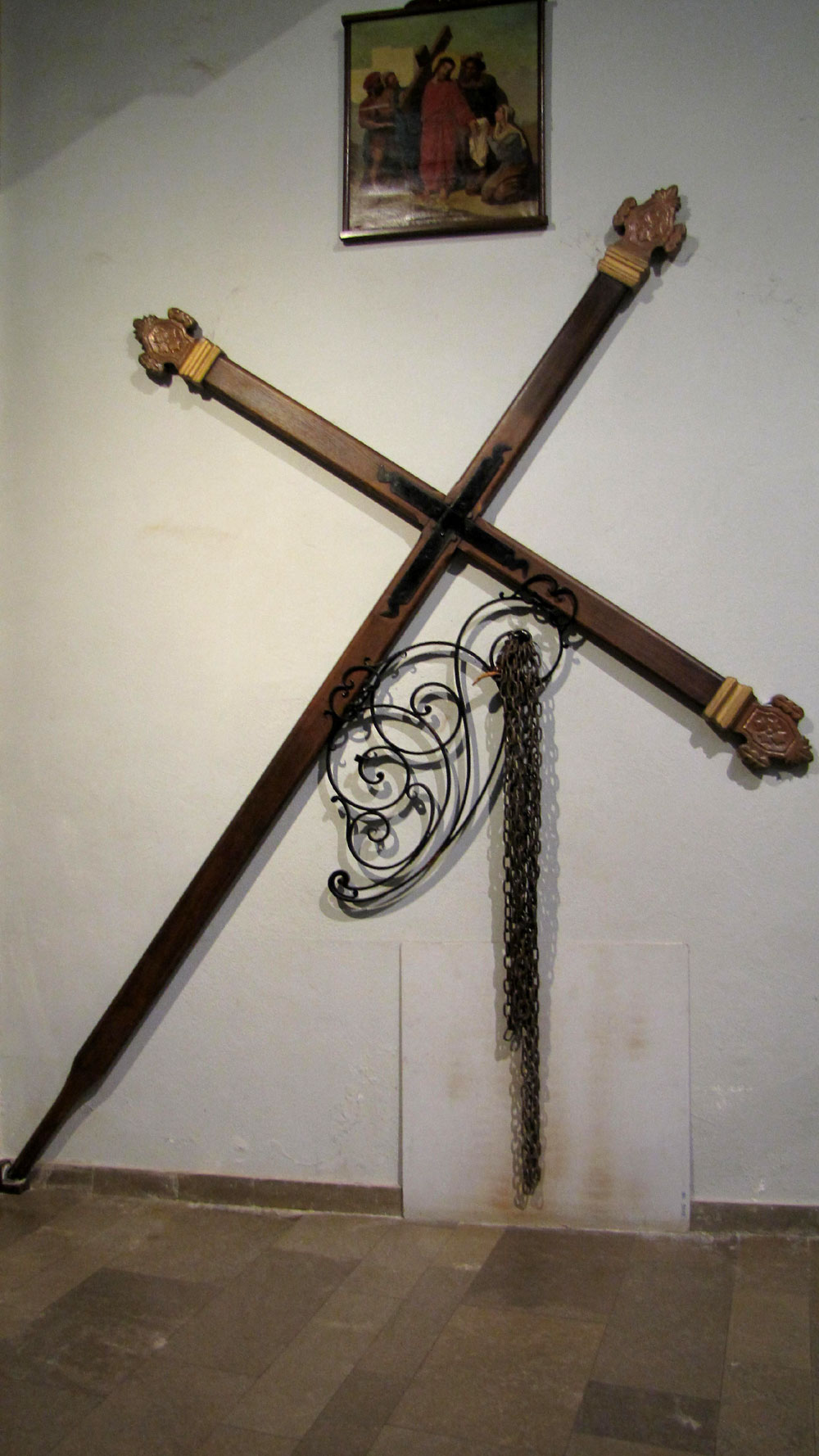 Croix et chaînes du Catenacciu