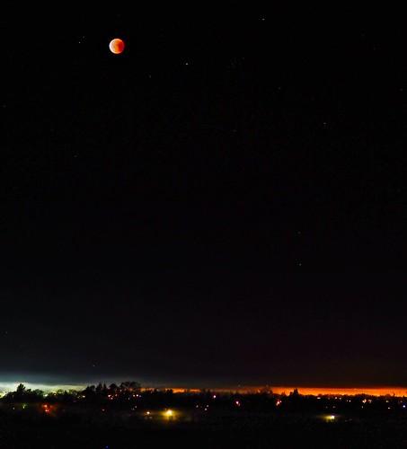 Moon Over Santa Rosa