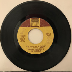 SMOKEY ROBINSON & THE MIRACLES:THE TEARS OF A CROWN(RECORD SIDE-A)