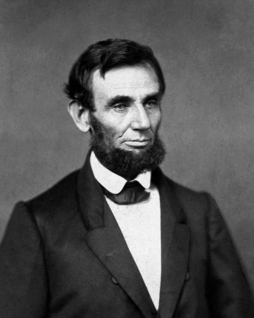 The earliest presidential portrait of Abraham Lincoln, photographed between March 4 and June 30, 1861, by an unknown photographer.