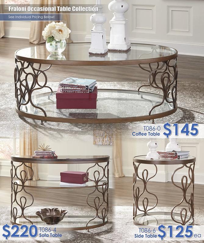 T086 Fraloni Table Collection