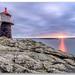 Sunset @ Mortholem Fyr (Lighthouse)