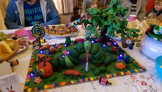 Caterpillar Cake by Holley-Ann White