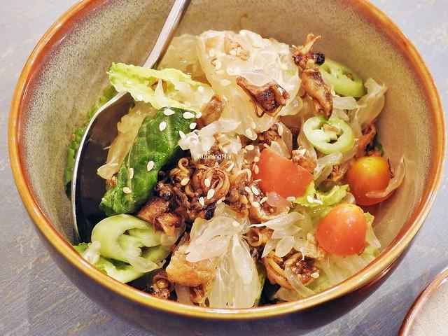 Crispy Baby Squid & Pomelo Salad