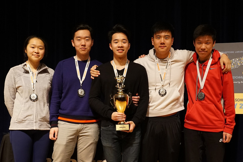 Wheatley School Wins Regional High School Science Bowl at Brookhaven Lab