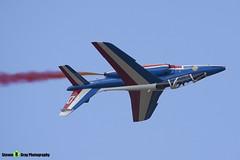 E134 0 F-TERM - E134 - Patrouille de France - French Air Force - Dassault-Dornier Alpha Jet E - RIAT 2010 Fairford - Steven Gray - IMG_9665