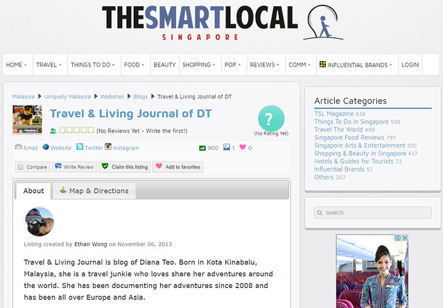 Featured in The Smart Local Singapore