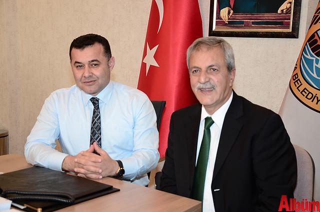 Alanya Belediye Başkanı Adem Murat Yücel, Alanya Belediyesi Yabancılar Meclisi Üyesi Abdullah Karaoğlu
