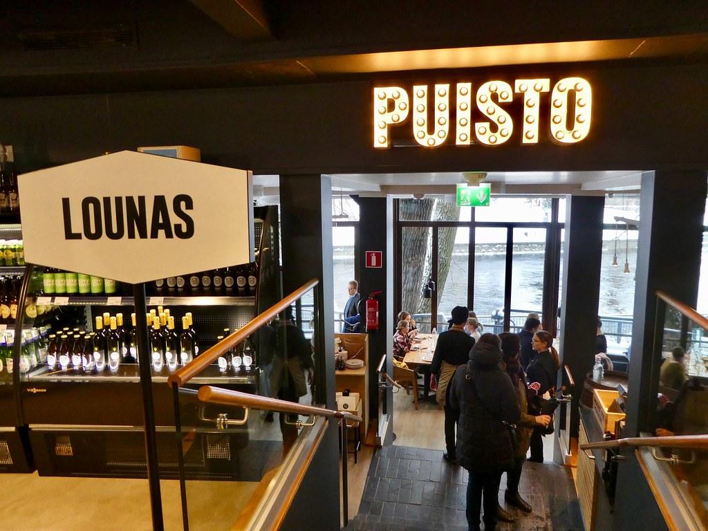 Puisto restaurant, Tampere