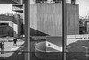FlickrDelusions posted a photo:The rear of the Queen Elizabeth Hall from the Hayward Gallery Café, London