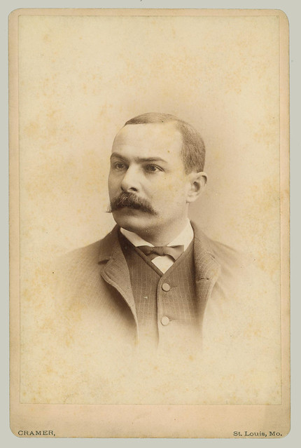 Cabinet Card portrait of young man