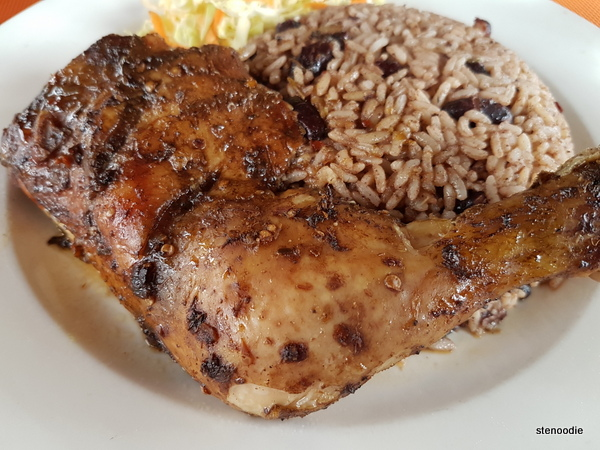 Fumi's jerk chicken