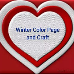 Showing you my free, safe printable Winter Page and Craft