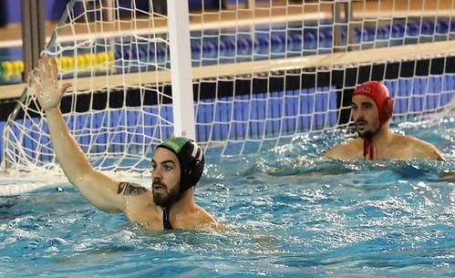 José Antonio Millán y Adrián Rodríguez del Waterpolo Dos Hermanas