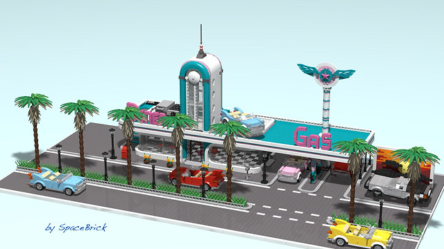 Downtown Diner XL - work in progress 3/3