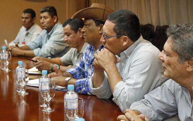 Reunión con respresentantes Mesa Nacional de la Caña 01