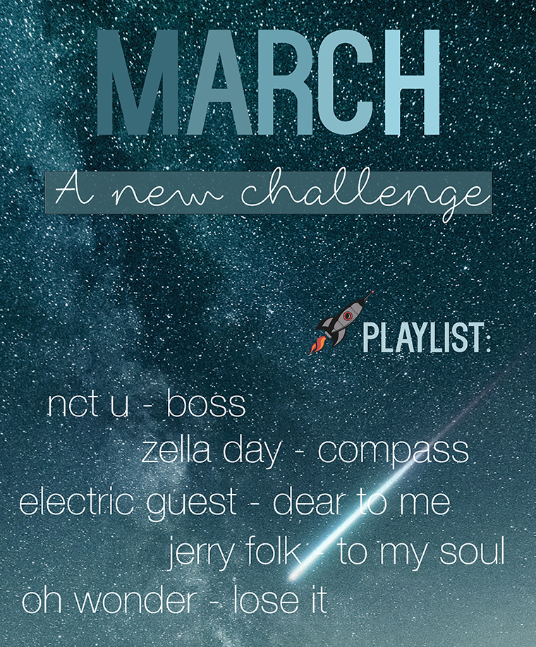 March A New Challenge